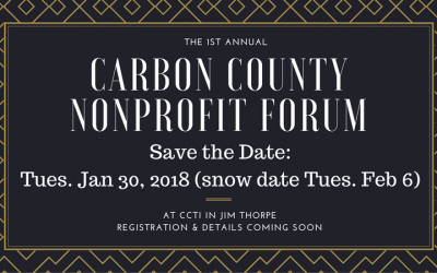 Date set for 2018 Carbon County Nonprofit Forum