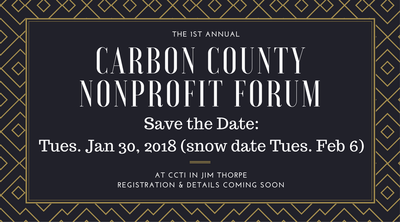 Date set for 2018 Carbon County Nonprofit Forum