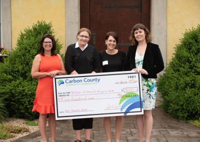 2019 Carbon Community Foundation Grant Awards photos at Galen Glen
