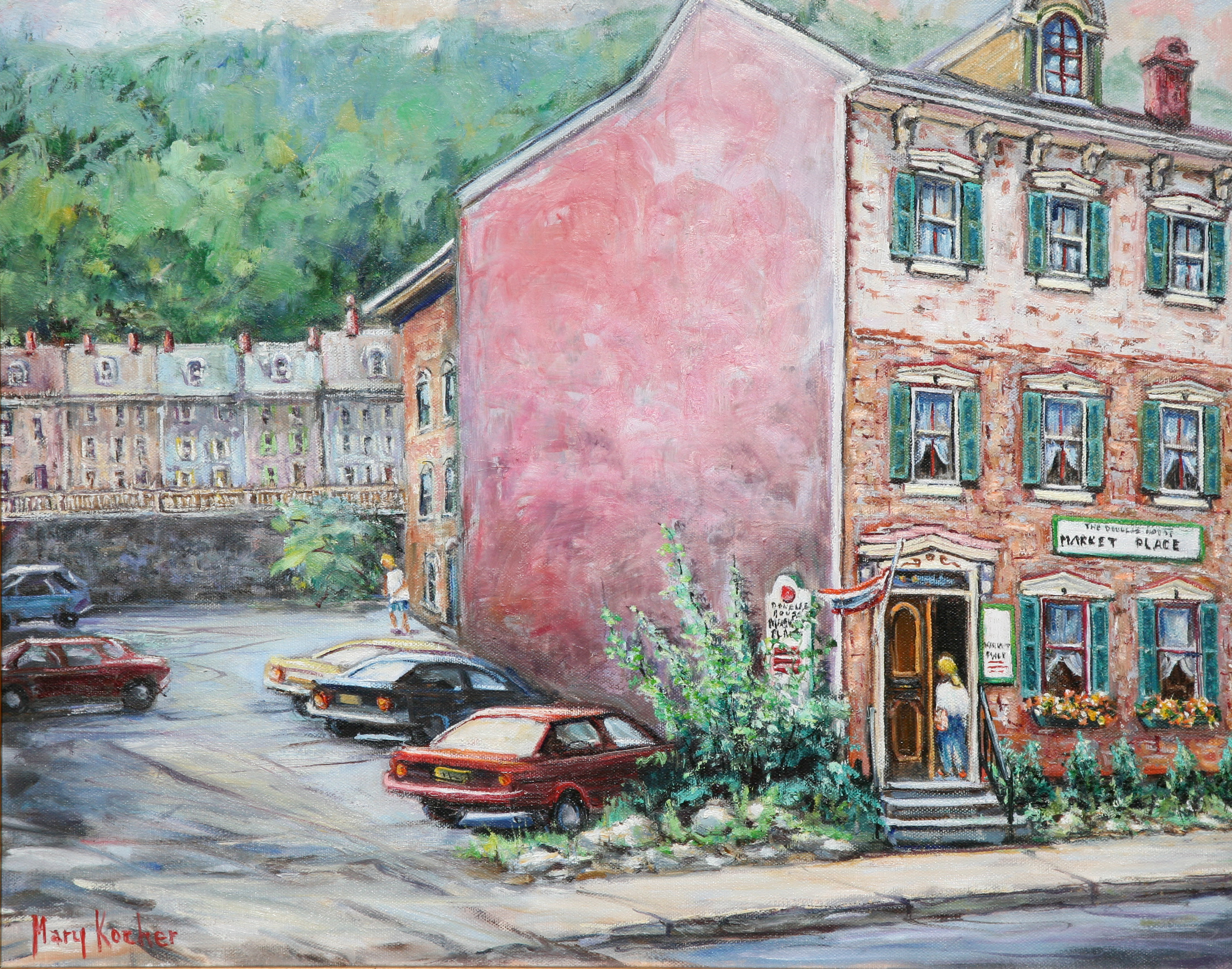 Mary Kocher - auction piece