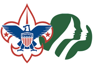 Boy Scout and Girl Scout Logos