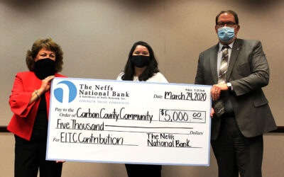 Educational Improvement: Thank You to The Neffs National Bank!