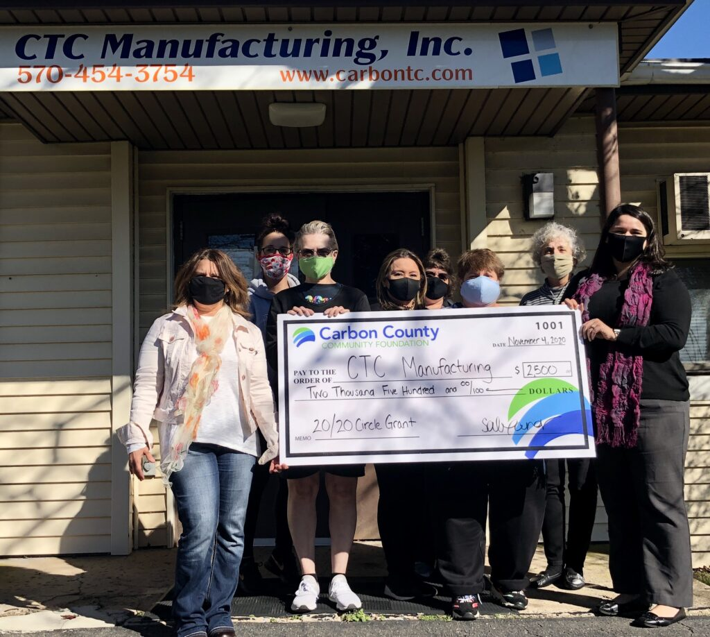 Check presentation to CTC Manufacturing