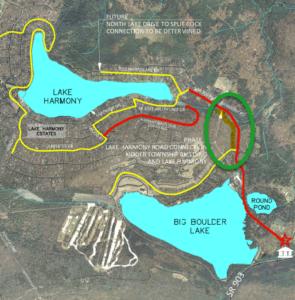 Kidder Hike and Bike Trail Map Photo