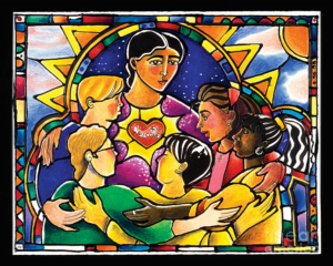 All are Welcome painting image